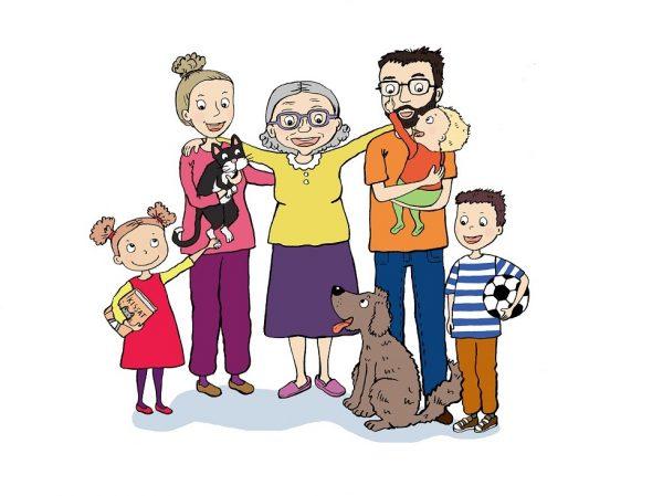 Roihusten perhe